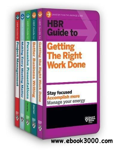 HBR Guides to Being an Effective Manager Collection: 5 Books