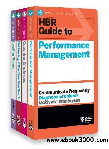 HBR Guides to Performance Management Collection: 4 Books