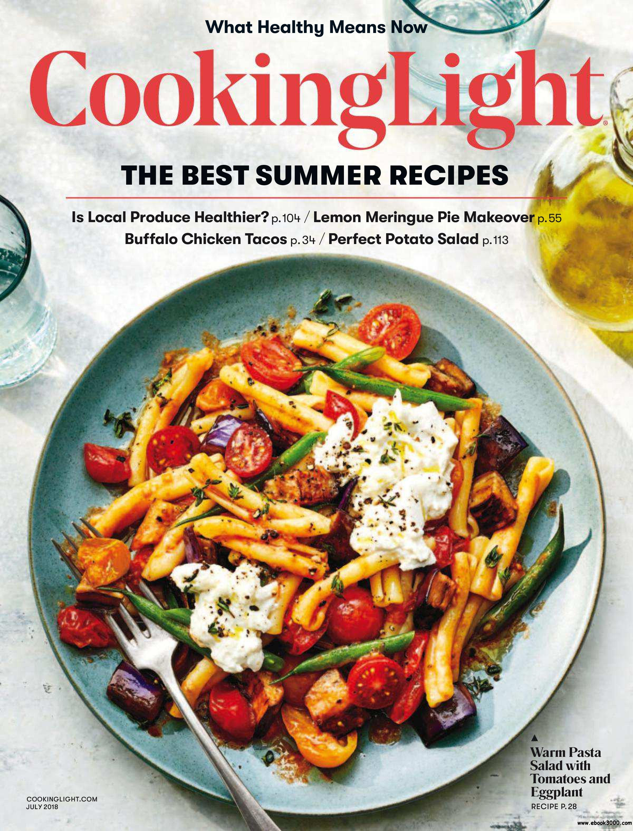 Cooking Light   July 2018 Pictures Gallery