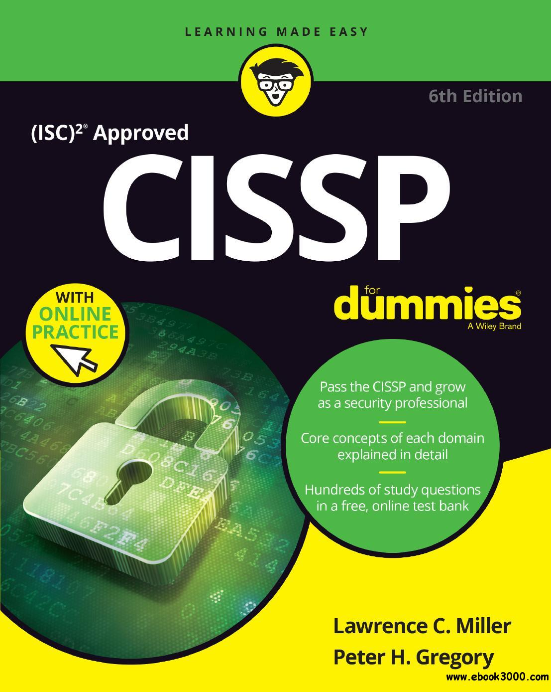 CISSP For Dummies (For Dummies (Computer/tech)), 6th Edition