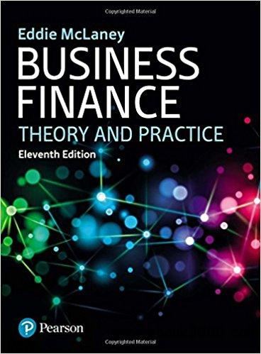 Business finance : Theory and Practice, 11th edition