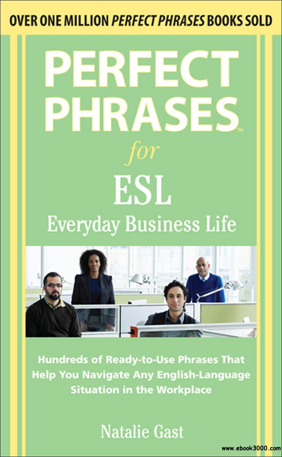 Perfect Phrases Esl Everyday Business Perfect Phrases border=