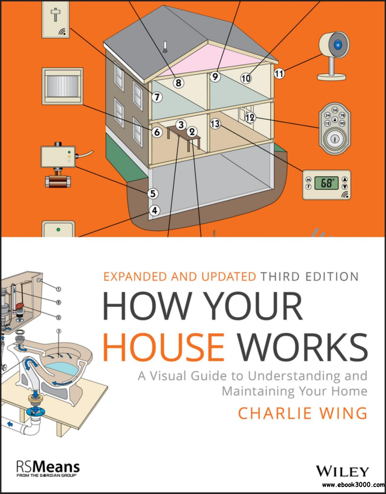 How Your House Works: A Visual Guide to Understanding and Maintaining Your Home (RSMeans), 3rd Edition