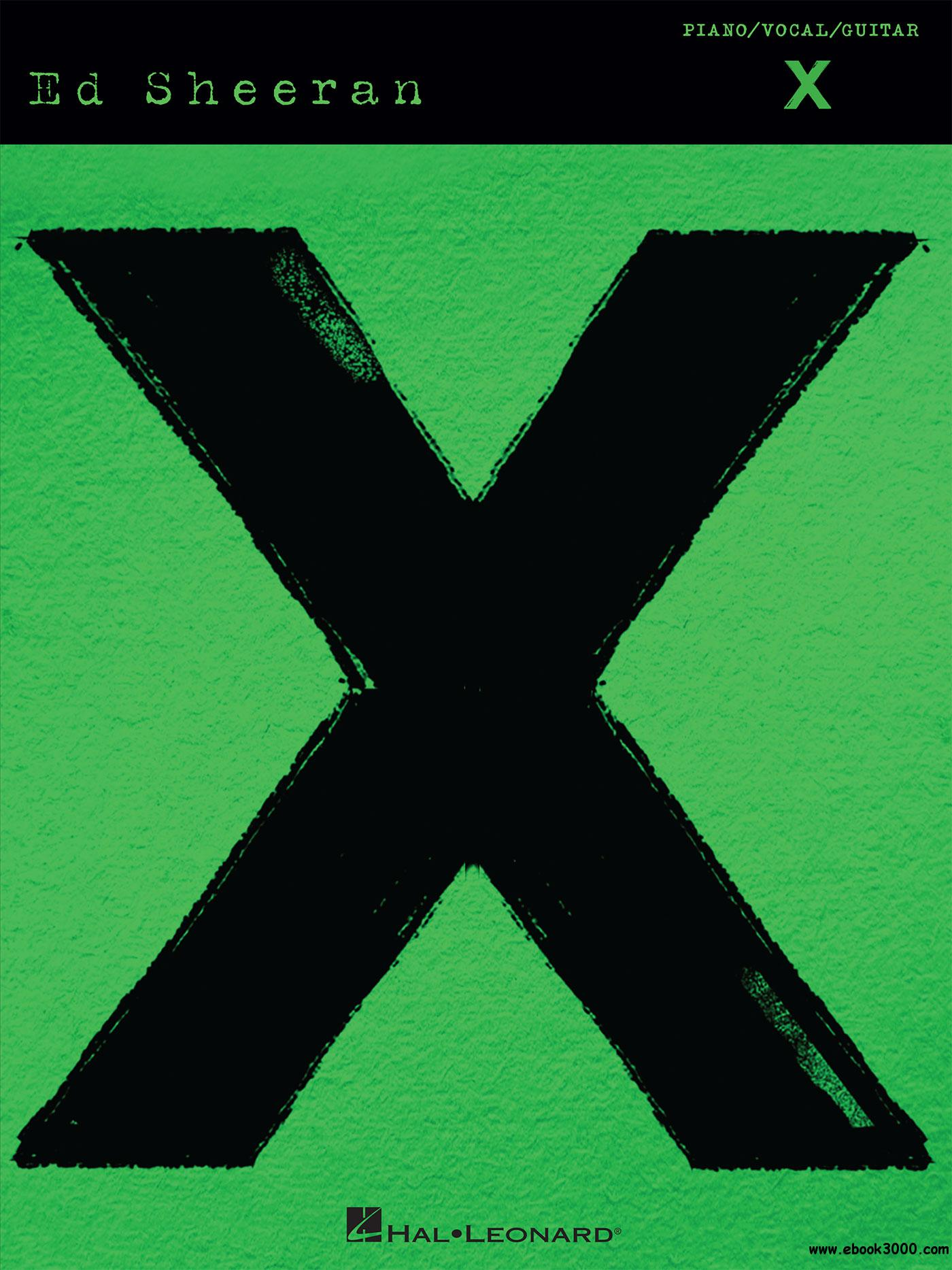Ed Sheeran--X Songbook