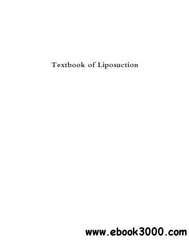 Textbook of Liposuction - Free eBooks Download