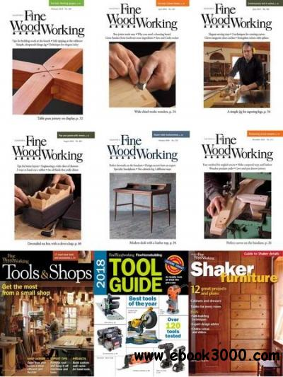 Fine Woodworking Full Year 2018 Collection Free Ebooks
