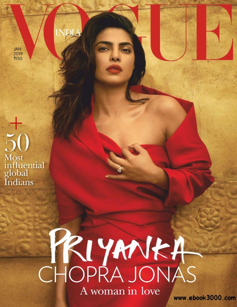 dde2f35abe Vogue India - January 2019 - Free eBooks Download