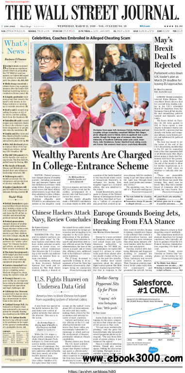 The Wall Street Journal - 13 March 2019