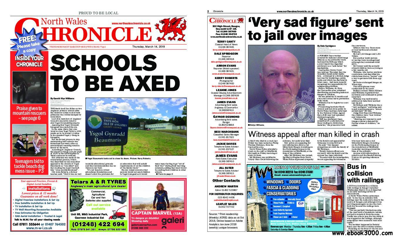 North Wales Chronicle - March 14, 2019
