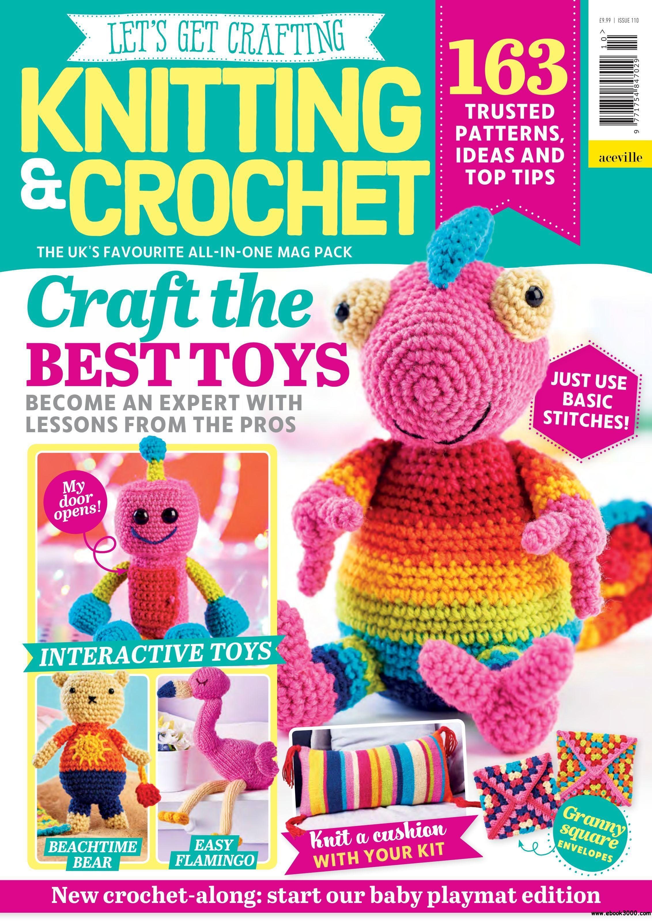 Let S Get Crafting Knitting Crochet June 2019 Free Ebooks Download