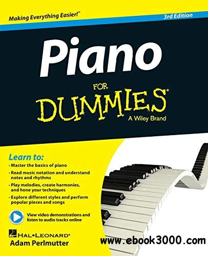 Piano For Dummies: Book
