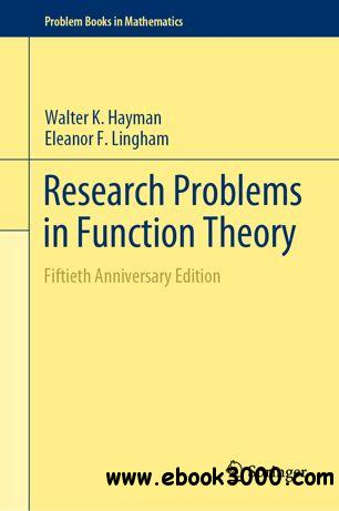 Research Problems in Function Theory: Fiftieth Anniversary Edition