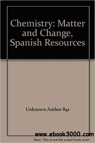 Chemistry: Matter and Change, Spanish Resources