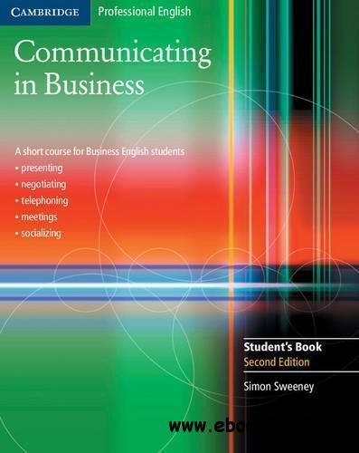 Communicating in Business: A Short Course for Business English Students