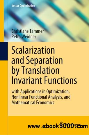 Scalarization and Separation by Translation Invariant Functions