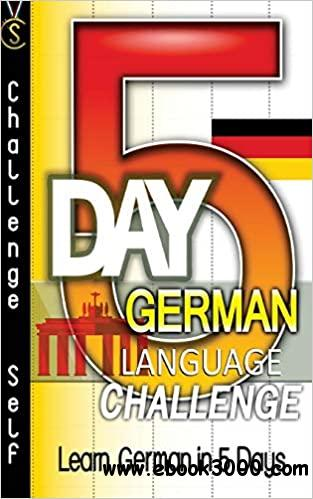 5-Day German Language Challenge: Learn German In 5 Days