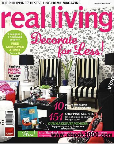 Real Living - October 2010 free download