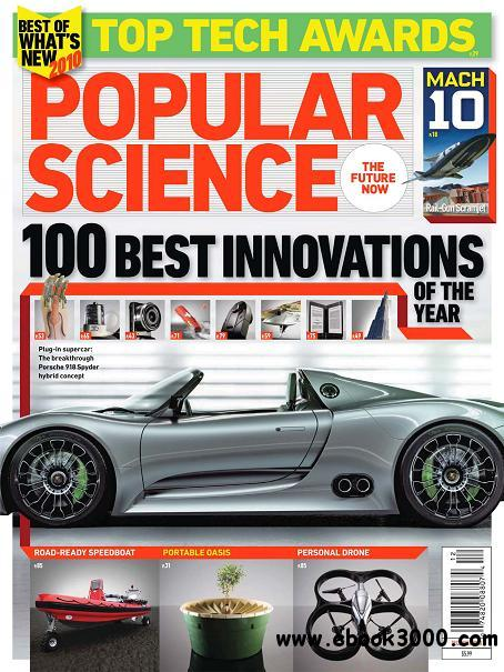 Popular Science - December 2010 free download
