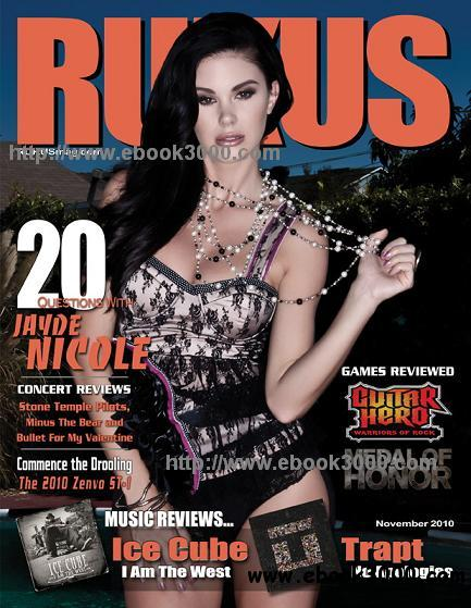 Rukus Magazine - November 2010 free download