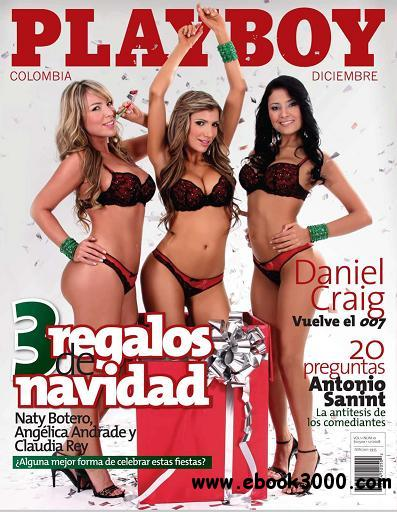 Playboy Colombia - December 2008 free download