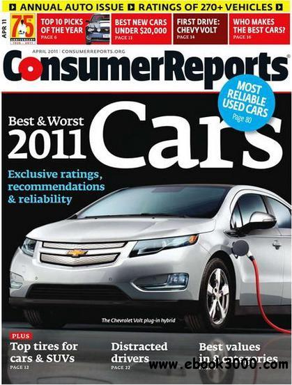 Consumer Reports - April 2011 free download
