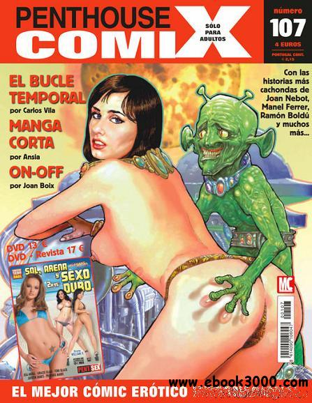 Penthouse Comic Spain - August 2011 free download
