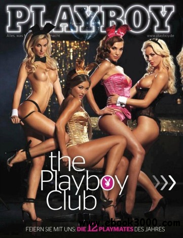 Playboy Germany - January 2012 free download