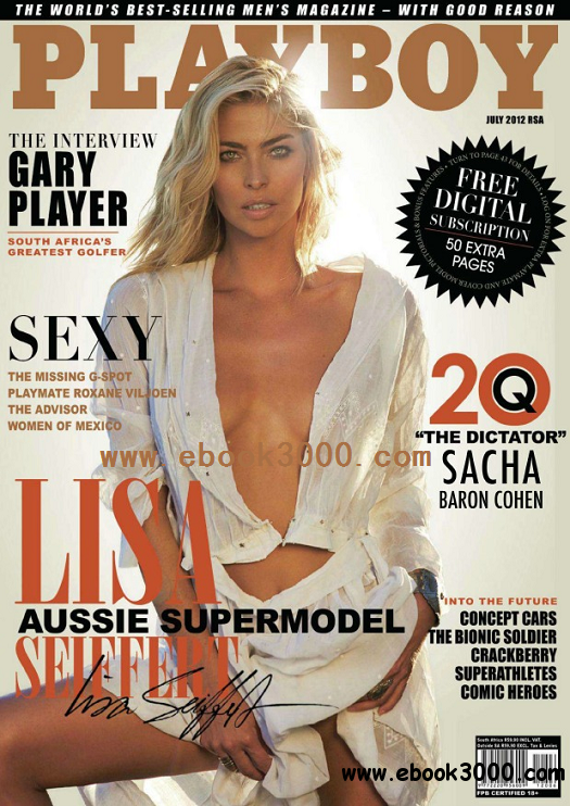 Playboy South Africa - July 2012 free download