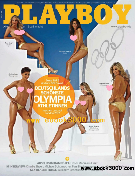 Playboy Germany - August 2012 free download