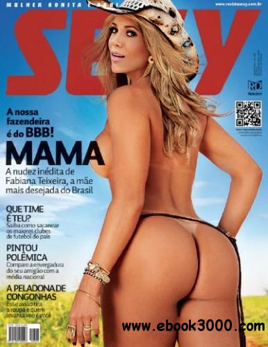 Fabiana Teixeira - (Revista Sexy Brazil - Agosto 2012 + HD Video) free download