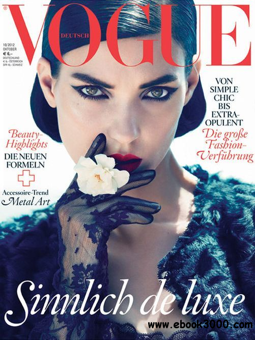 Vogue Germany - October 2012 free download