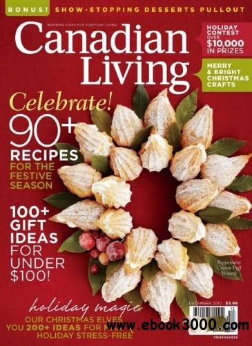 Canadian Living - December 2012 free download