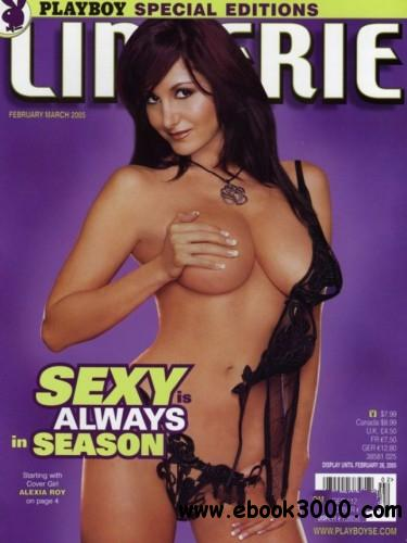 Playboy's Lingerie - February-March 2005 free download