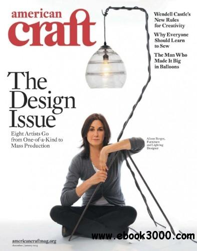American Craft - December 2012 January 2013 free download