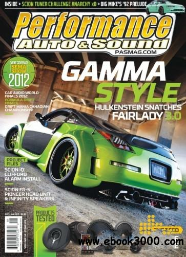 Performance Auto & Sound - December 2012 January 2013 free download
