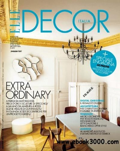 Elle Decor Italia No.12 - Dicembre 2012 free download