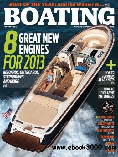 Boating - January 2013 free download