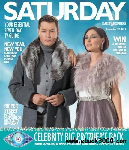 Saturday (Daily Express) - 29 December 2012 free download