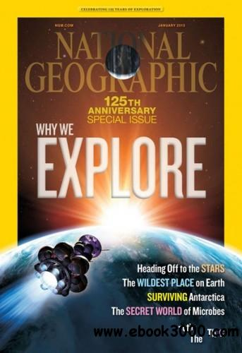 National Geographic - January 2013 USA free download