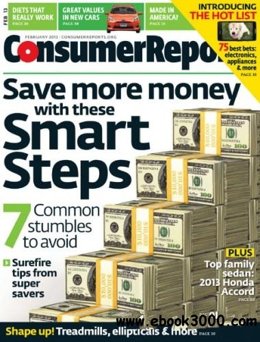 Consumer Reports - February 2013 free download