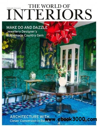 The World of Interiors - February 2013 free download