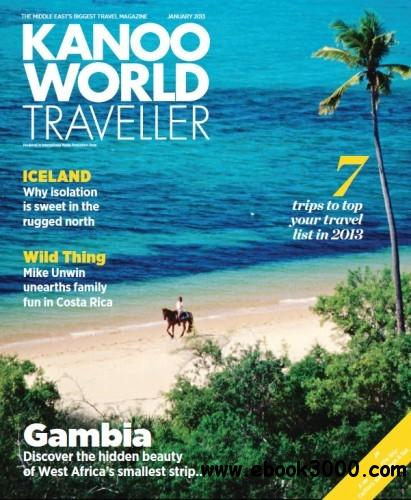 Kanoo World Traveller - January 2013 free download