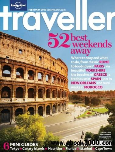 Lonely Planet Traveller UK - February 2013 free download