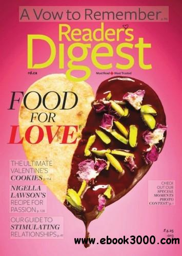 Reader's Digest Canada - February 2013 free download