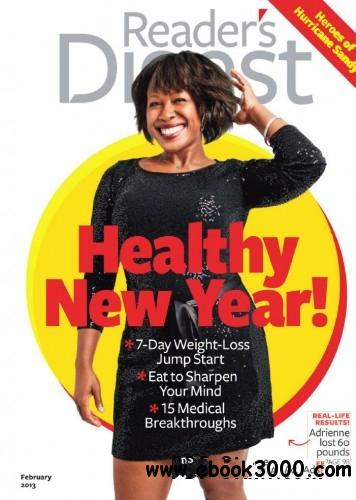 Reader's Digest USA - February 2013 free download