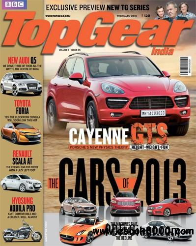 TopGear February 2013 (India) free download