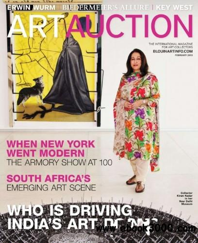 Art + Auction - February 2013 free download