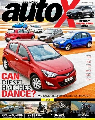 autoX February 2013 (India) free download