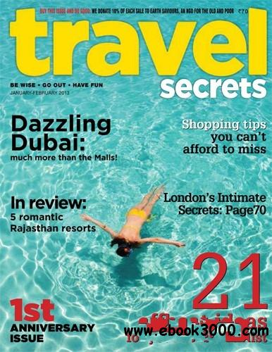 Travel Secrets January - February 2013 (India) free download