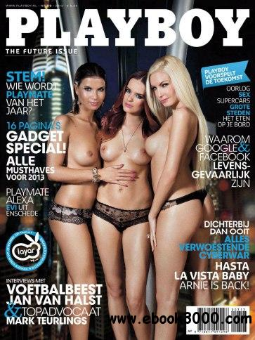 Playboy Nederland - March 2013 free download